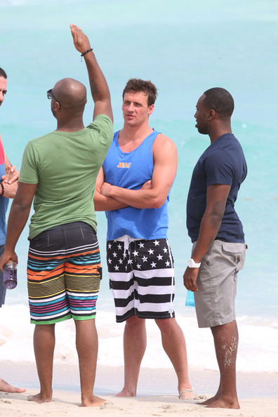 More Pics of Ryan Lochte Swim Trunks (1 of 29) - Ryan Lochte Lookbook - StyleBistro