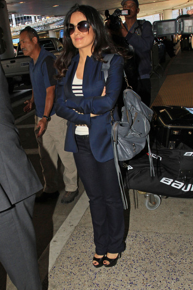 More Pics of Salma Hayek Blazer (2 of 18) - Salma Hayek Lookbook - StyleBistro