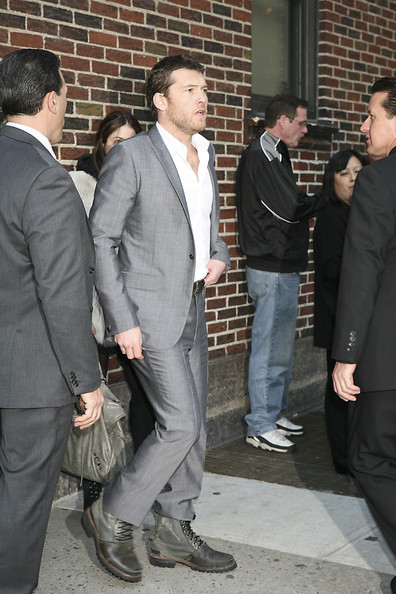 Sam Worthington Lace Up Boots