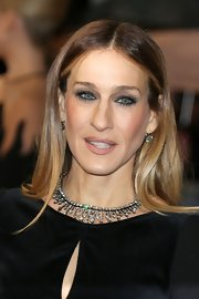 SJP wore her multi-tone blonde locks sleek, smooth, and straight for the 2013 BAFTAs.