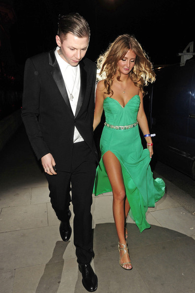 Millie Mackintosh and Professor Green Dress Up