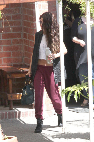 More Pics Of Selena Gomez Sports Pants 18 Of 24 Selena