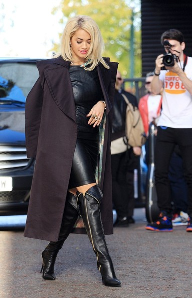 More Pics Of Rita Ora Leather Dress 9 Of 10 Leather Dress