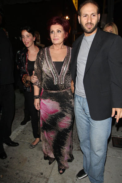Sharon Osbourne Maxi Dress