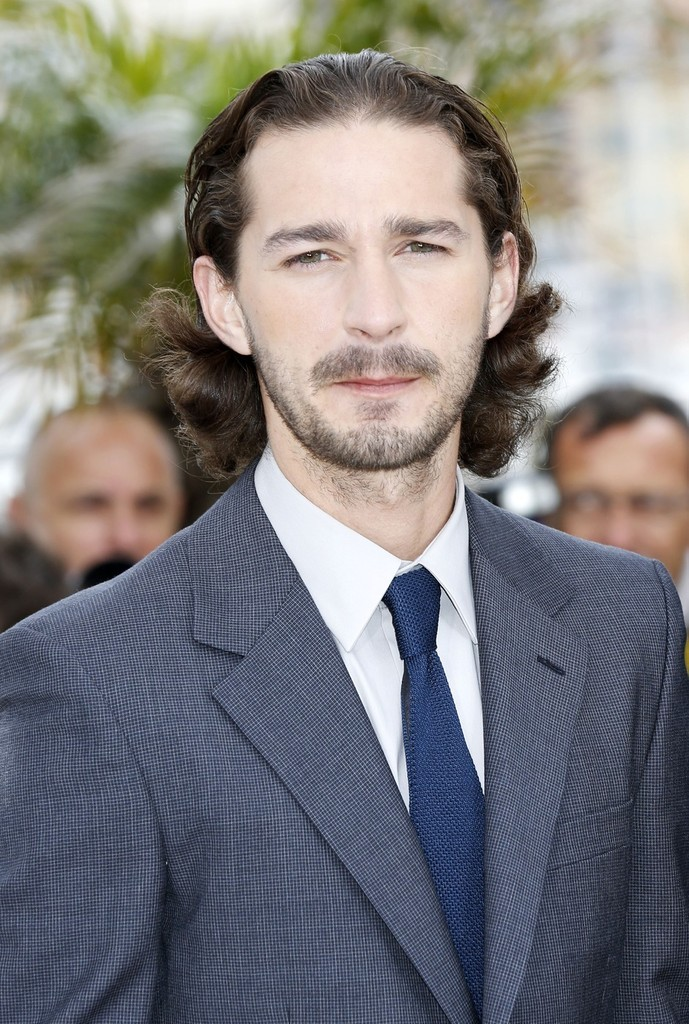 Shia LaBeouf rocked a curly 'do at the premiere of 'Lawless in ...