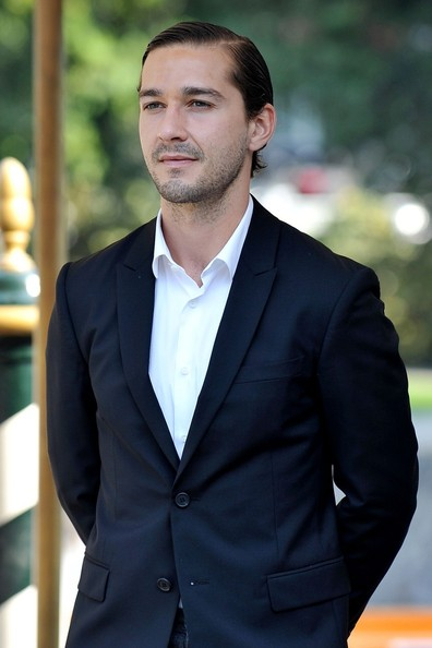 More Pics of Shia LaBeouf Short Side Part (1 of 9) - Shia LaBeouf Lookbook - StyleBistro