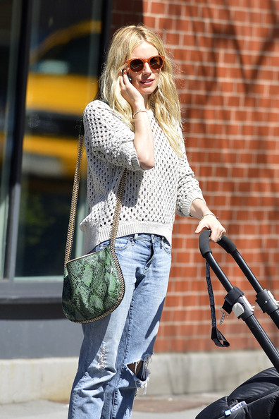More Pics of Sienna Miller Ripped Jeans (4 of 6) - Sienna Miller Lookbook - StyleBistro