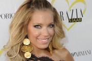 Silvie Van Der Vaart Gold Dangle Earrings