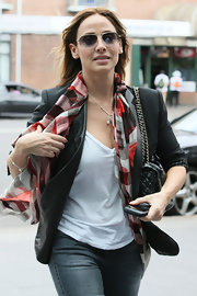 Natalie Imbruglia was out and about in Sydney wearing a pair of aviators.
