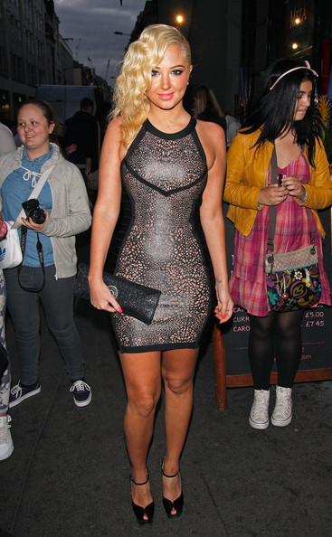 More Pics of Tulisa Contostavlos Cocktail Dress (1 of 12) - Tulisa Contostavlos Lookbook - StyleBistro