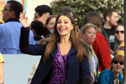 Sofia Vergara films scenes for an upcoming episode of the hit show