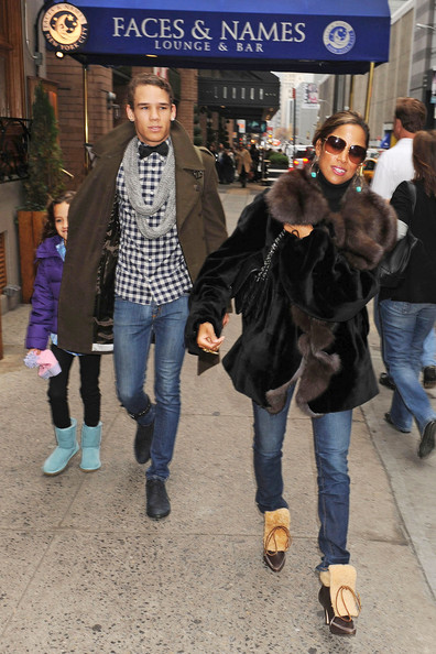 More Pics of Stacey Dash Fur Coat (1 of 6) - Stacey Dash Lookbook - StyleBistro