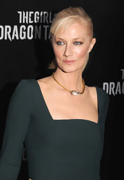 Joely Richardson wore an antique opal and diamond snake necklace at the NYC premiere of 'The Girl With the Dragon Tattoo.'