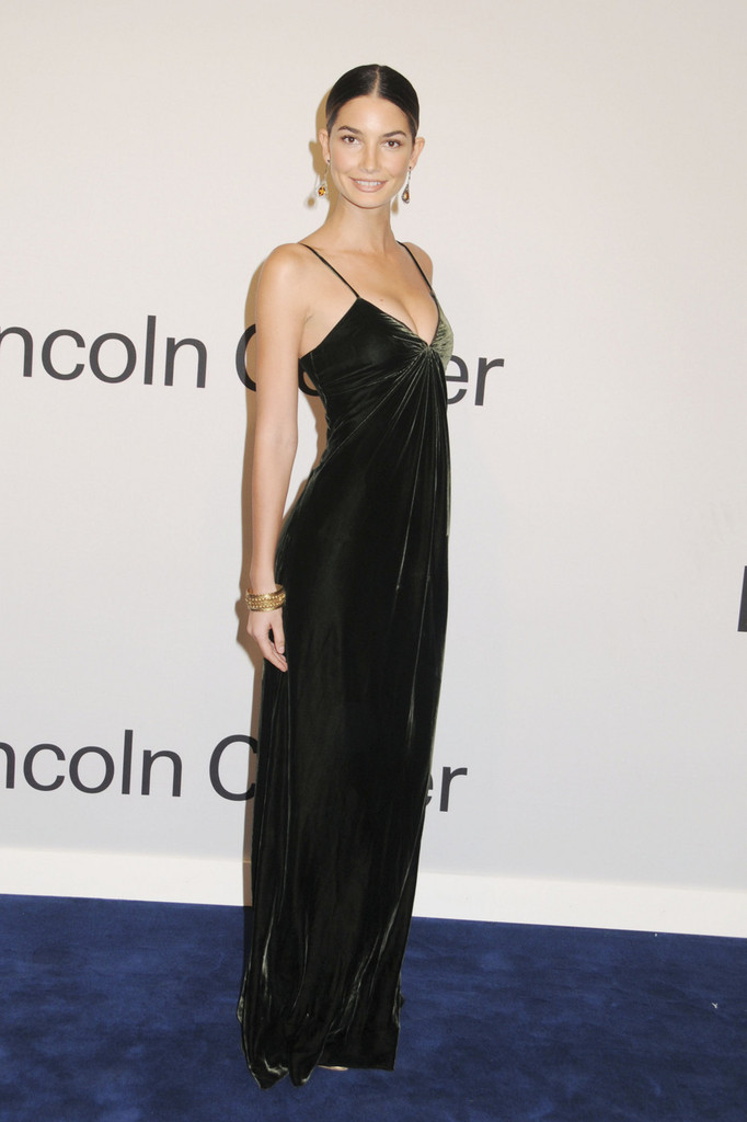 Lily Aldridge attends an 'Evening With Ralph Lauren' hosted by Oprah Winfrey at Alice Tully Hall in.New York.