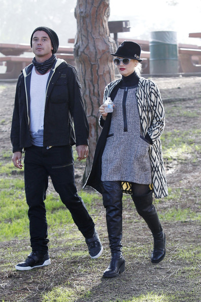 More Pics of Gwen Stefani Over the Knee Boots (1 of 26) - Gwen Stefani Lookbook - StyleBistro
