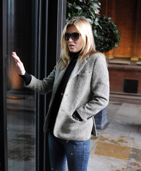 More Pics of Kate Moss Tweed Jacket (2 of 5) - Kate Moss Lookbook - StyleBistro