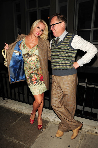 Vic Reeves and Nancy Sorrell at Il Bottaccio