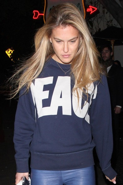 More Pics of Bar Refaeli Skinny Pants (3 of 13) - Bar Refaeli Lookbook - StyleBistro