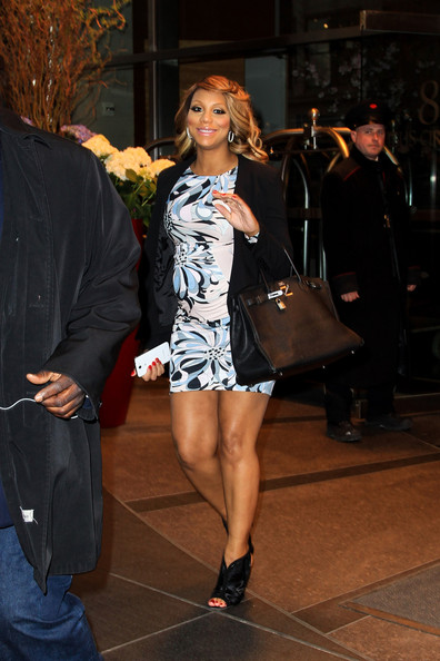 Tamar Braxton Maternity Dress