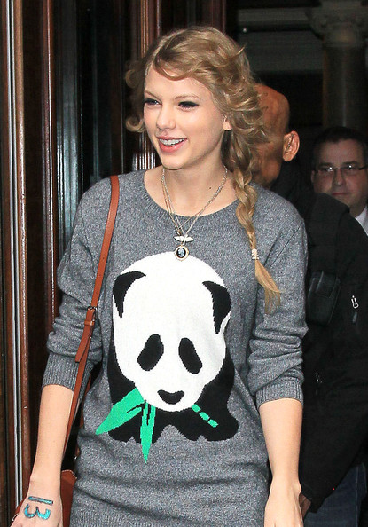 Taylor Swift Long Braided Hairstyle []