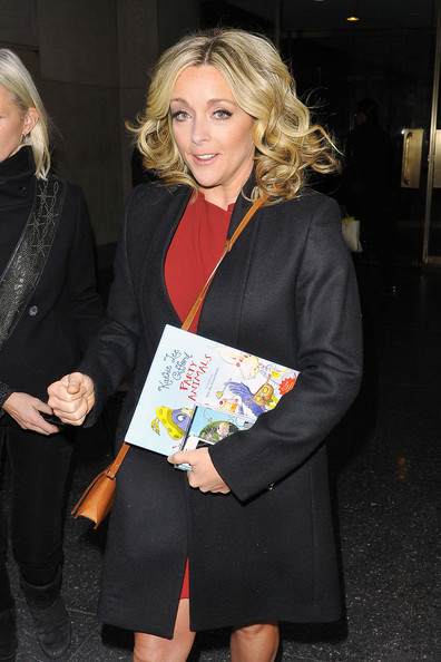 More Pics of Jane Krakowski Wool Coat (1 of 10) - Jane Krakowski Lookbook - StyleBistro