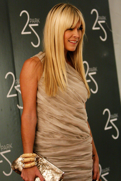 Tinsley Mortimer Long Straight Cut with Bangs []