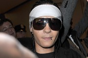 Tom Kaulitz Designer Shield Sunglasses