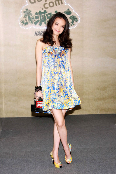 More Pics of Shu Qi Print Dress (5 of 10) - Shu Qi Lookbook - StyleBistro