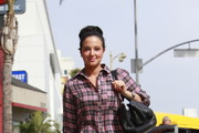 Tulisa Contostavlos Button Down Shirt