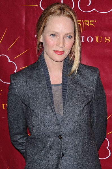 More Pics of Uma Thurman Pantsuit (3 of 18) - Uma Thurman Lookbook - StyleBistro
