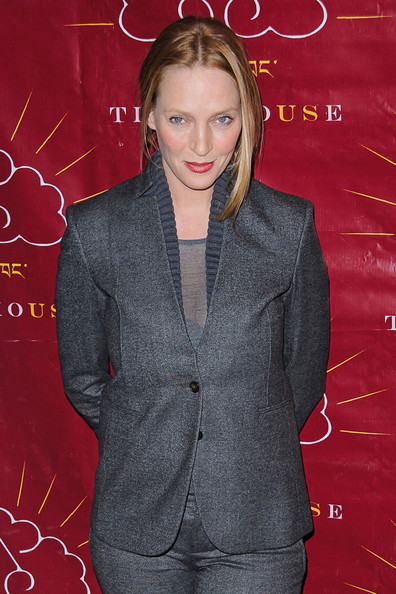 More Pics of Uma Thurman Pantsuit (1 of 18) - Pantsuit Lookbook - StyleBistro