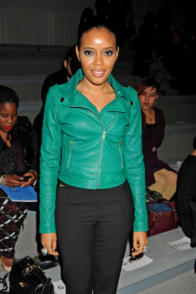 More Pics of Angela Simmons Skinny Pants (1 of 3) - Skinny Pants Lookbook - StyleBistro