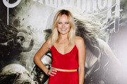 Malin Akerman joins a celebrity line up on the red carpet at the Los Angeles premiere of