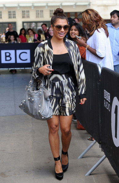 Vanessa White Zip-up Jacket