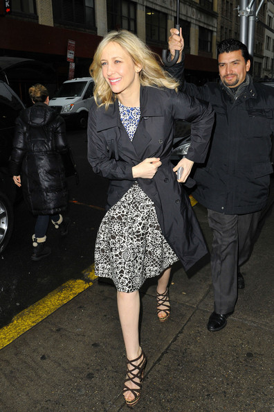Vera Farmiga Tweed Coat