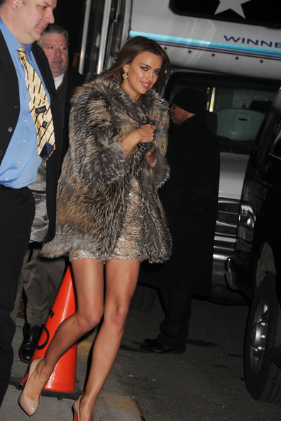 More Pics of Irina Shayk Fur Coat (1 of 15) - Fur Coat Lookbook - StyleBistro