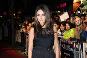 Mila Kunis Wears a D&G Evening Dress to London's 'Black Swan' Premiere