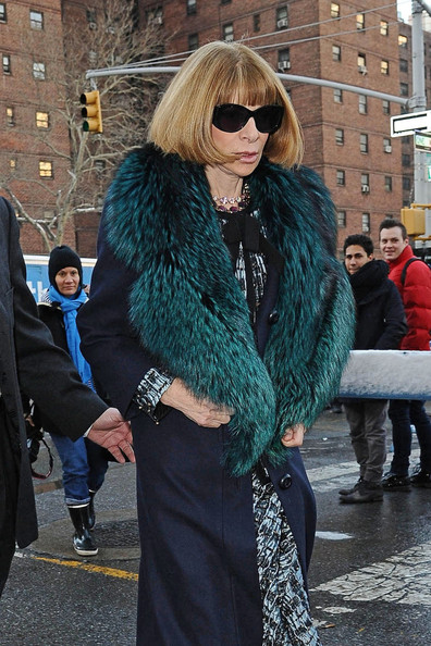 More Pics of Anna Wintour Wool Coat (5 of 23) - Anna Wintour Lookbook - StyleBistro