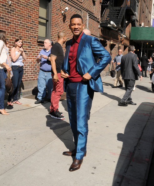 More Pics of Will Smith Men's Suit (1 of 25) - Will Smith Lookbook - StyleBistro