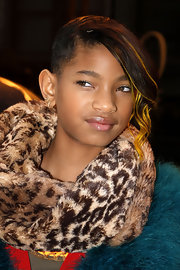 Willow Smith rocked an edgy 'do with this yellow streaked style.