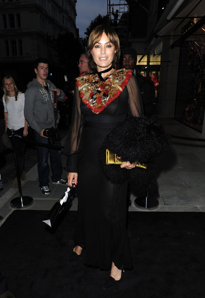 Yasmin Le Bon Evening Dress