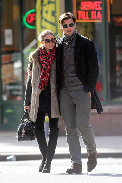 More Pics of Olivia Palermo Patterned Scarf (1 of 19) - Olivia Palermo Lookbook - StyleBistro