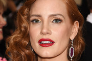 Jessica Chastain Side Swept Curls