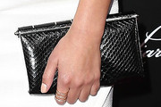 Ashley Benson Leather Clutch