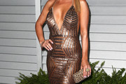 Joanna Krupa Halter Dress