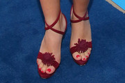 Busy Philipps Strappy Sandals