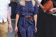 Mollie King Print Dress