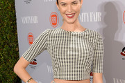 Odette Annable Crop Top
