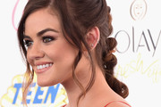 Lucy Hale Long Braided Hairstyle