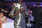 Alek Wek Mini Dress